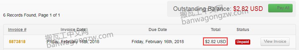 搬瓦工更换新 IP 地址价格已由 .00 下降到