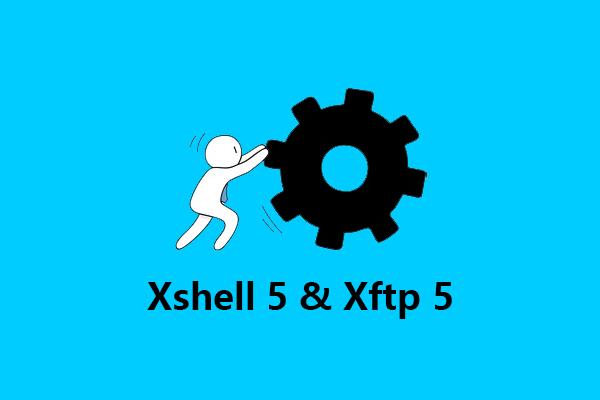 商业版 Xshell 5 & Xftp 5 下载,提供产品密钥,不强制更新